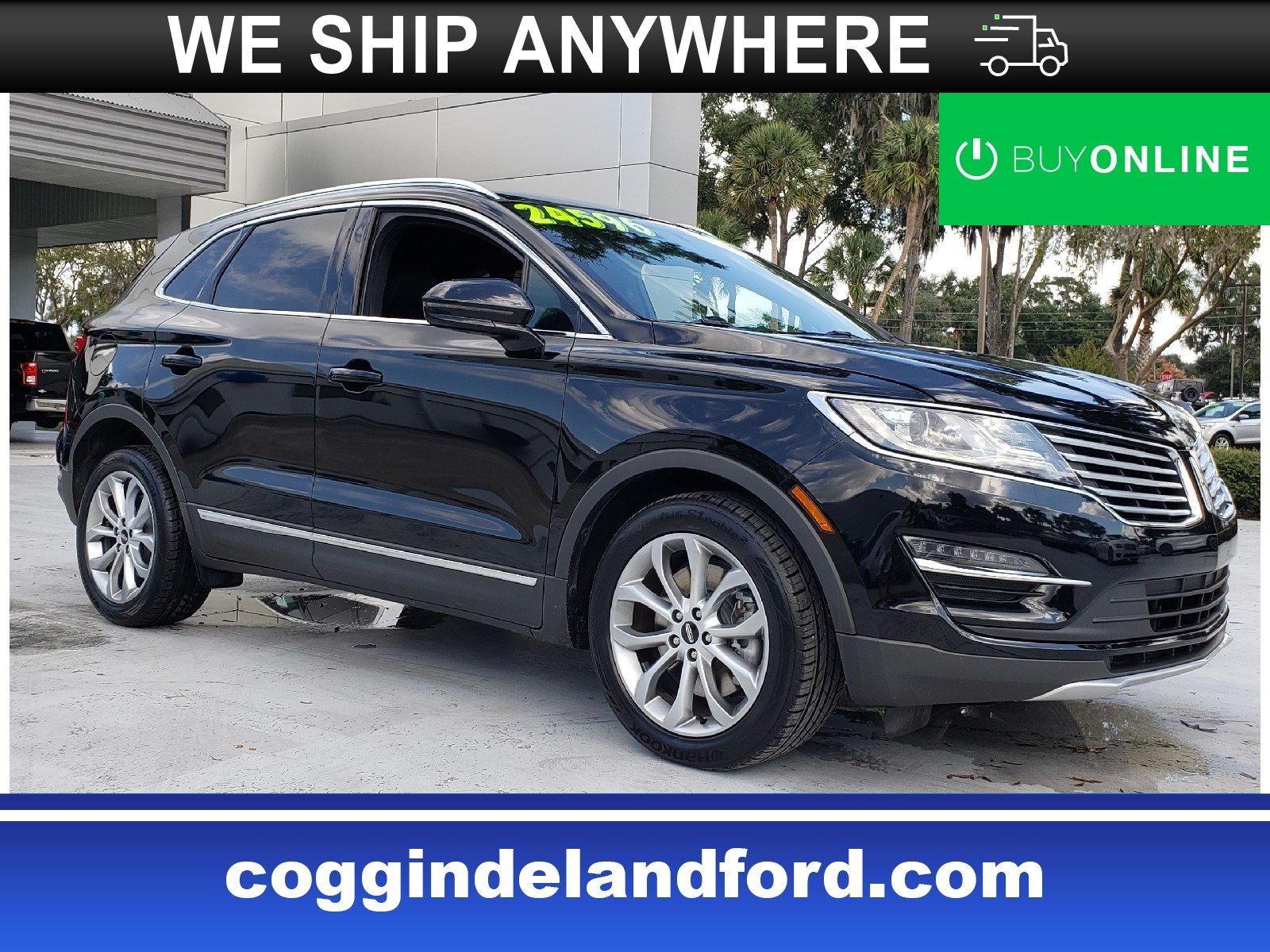 Photo Certified 2017 Lincoln MKC Select SUV in Jacksonville FL