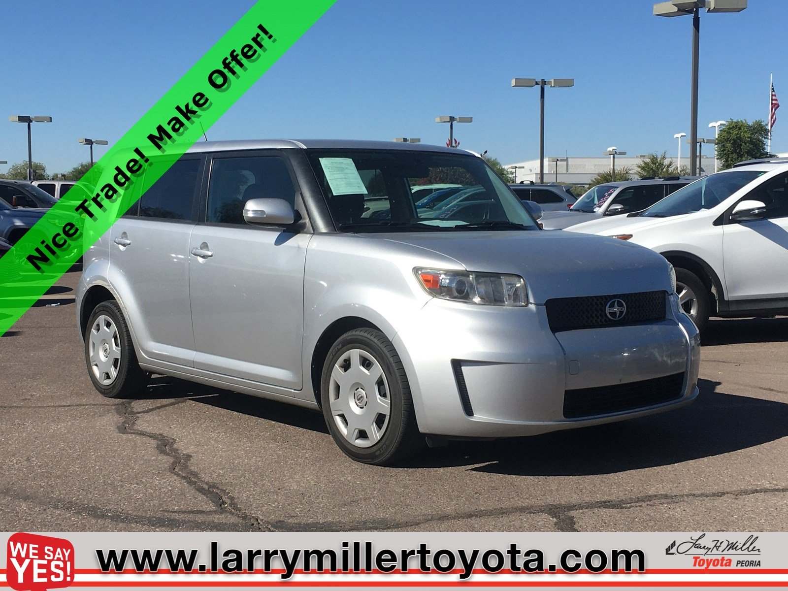 Photo Used 2010 Scion xB For Sale  Peoria AZ  Call 602-910-4763 on Stock P32429A