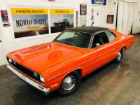 1972 Plymouth Duster -LOW COST CLASSIC - GOLD DUSTER - FACTORY A/C - SEE VIDEO