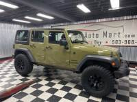 2013 Jeep Wrangler Unlimited Sport - THE GREEN MACHINE!!