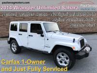 Used 2014 Jeep Wrangler Unlimited Sahara 4X4 For Sale at Paul Sevag Motors, Inc. | VIN: 1C4BJWEG0EL126699