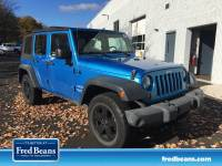 Used 2010 Jeep Wrangler Unlimited Sport For Sale in Doylestown PA | Serving New Britain PA, Chalfont, & Warrington Township | 1J4BA3H1XAL214623