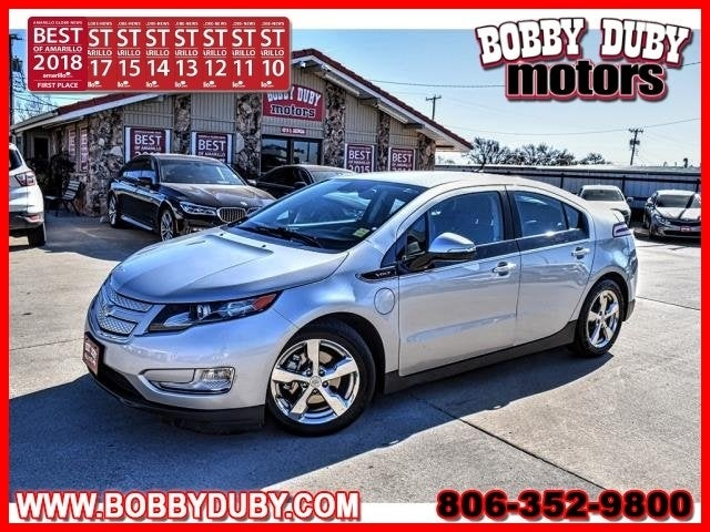 Photo 2014 Chevrolet Volt - Chevrolet dealer in Amarillo TX  Used Chevrolet dealership serving Dumas Lubbock Plainview Pampa TX