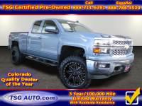 2015 Chevrolet Silverado 1500 4WD Double Cab LT W/Custom Lift/Wheels/Tires