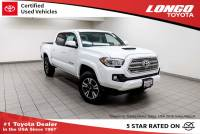 Certified Used 2017 Toyota Tacoma TRD Sport Double Cab 5 Bed V6 4x2 Automatic in El Monte