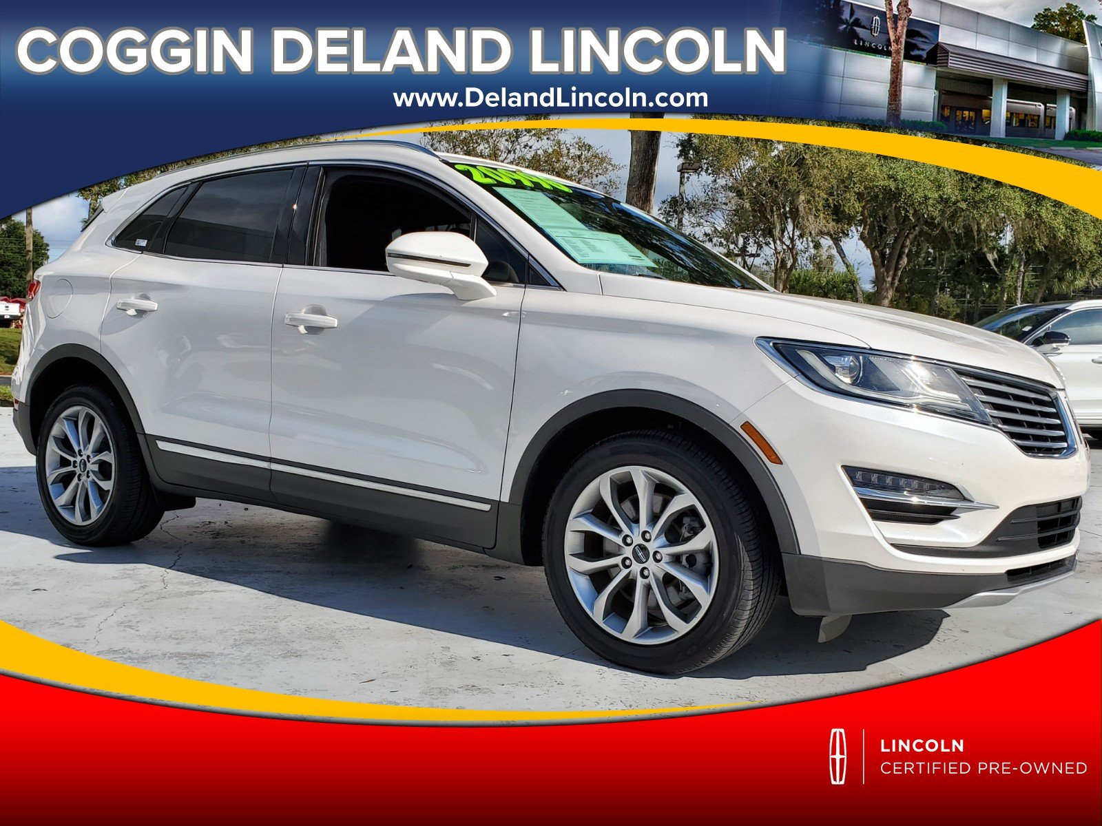 Photo Certified 2016 Lincoln MKC Select FWD Select in Jacksonville FL