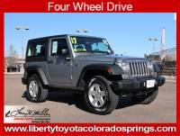 Used 2017 Jeep Wrangler Sport Sport 4x4 For Sale in Colorado Springs, CO