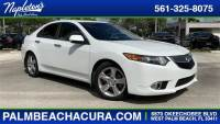 Certified Used 2014 Acura TSX TSX 5-Speed Automatic for sale. West Palm Beach FL, #EC000324
