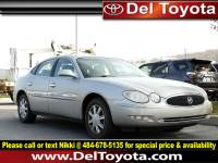 Used 2007 Buick Lacrosse CX For Sale in Thorndale, PA | Near West Chester, Malvern, Coatesville, & Downingtown, PA | VIN: 2G4WC552071115913
