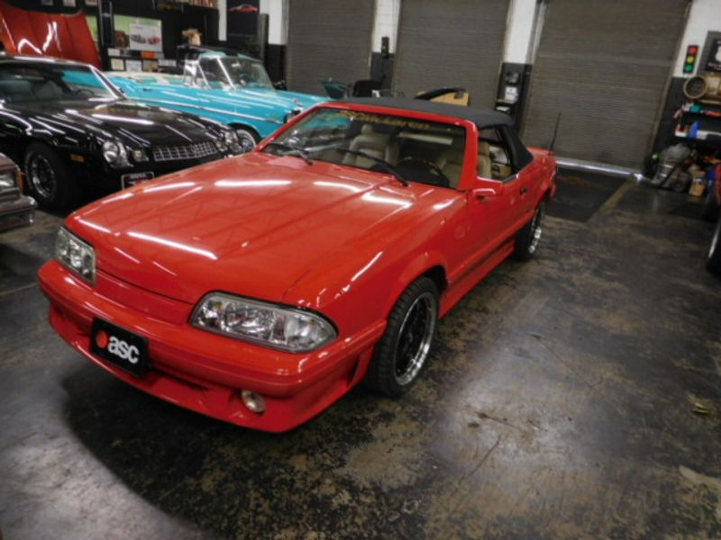 Photo Used 1987 Ford Mustang ASC MCCLAREN