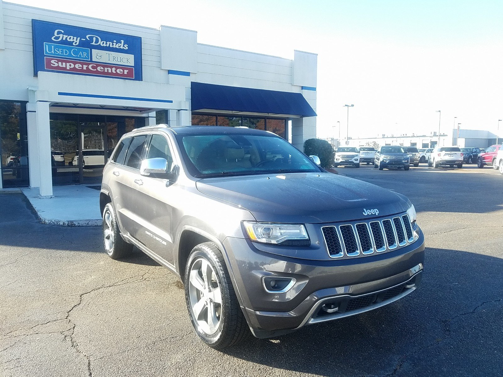 Photo 2014 Jeep Grand Cherokee Overland SUV 6