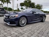 2016 Mercedes-Benz S-Class S 550 4MATIC Coupe