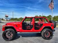 Used 2019 Jeep Wrangler Unlimited CUSTOM LIFTED LEATHER HARDTOP TURBO SAHARA