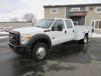 Used 2011 Ford F-450 4x4 Crew-Cab Service Utility Truck