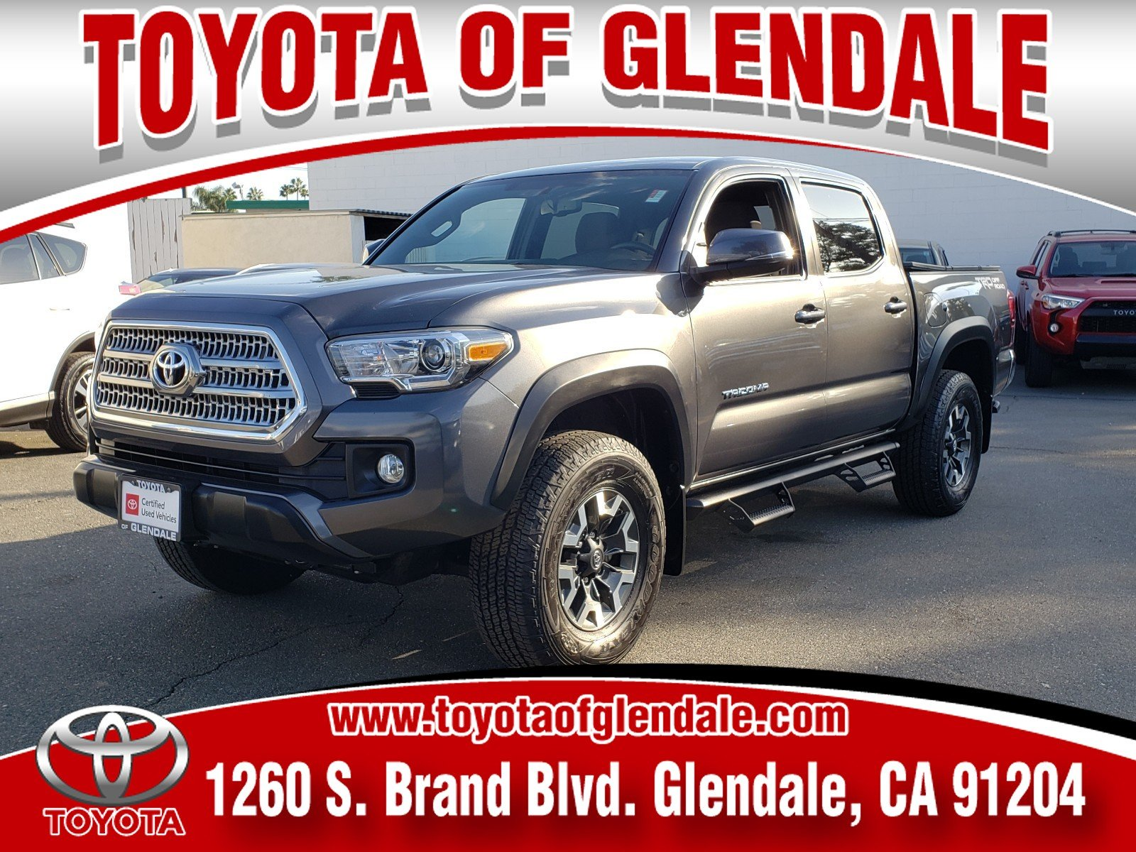 Photo Used 2017 Toyota Tacoma TRO For Sale  Glendale CA  Serving Los Angeles  3TMAZ5CN1HM052020
