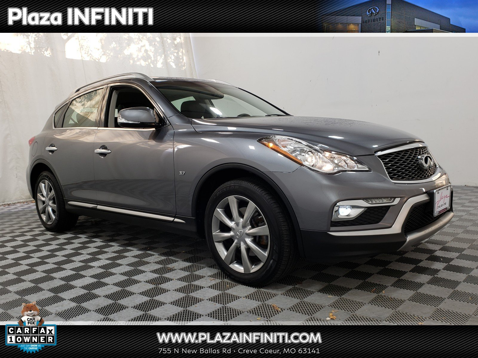 Photo Certified 2016 INFINITI QX50 3.7 with Premium Package SUV in OFallon MO