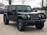 Pre-Owned 2017 Jeep Wrangler JK Unlimited Sahara 4x4 SUV For Sale in Shelby MI