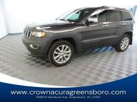 Pre-Owned 2017 Jeep Grand Cherokee Limited in Greensboro NC
