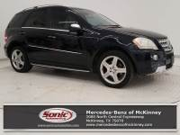 2010 Mercedes-Benz M-Class ML 550 SUV in McKinney