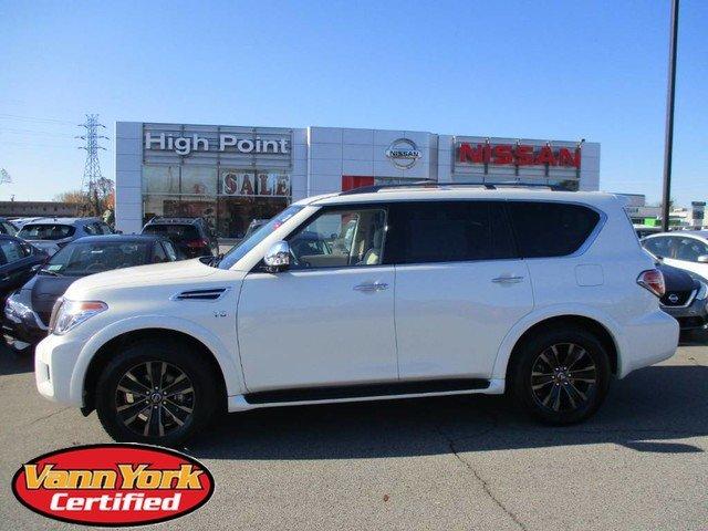 Photo Used 2019 Nissan Armada Platinum SUV For Sale in High-Point, NC near Greensboro and Winston Salem, NC