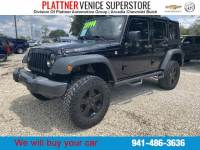 Pre-Owned 2016 Jeep Wrangler Unlimited Black Bear SUV