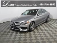 Pre-Owned 2016 Mercedes-Benz C-Class C 300 4MATIC Sedan for Sale in Sioux Falls near Brookings