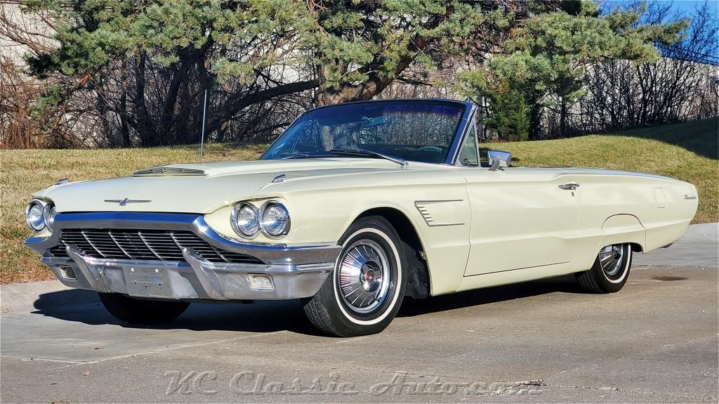 Photo 1965 Ford Thunderbird Convertible 390V8 with AC