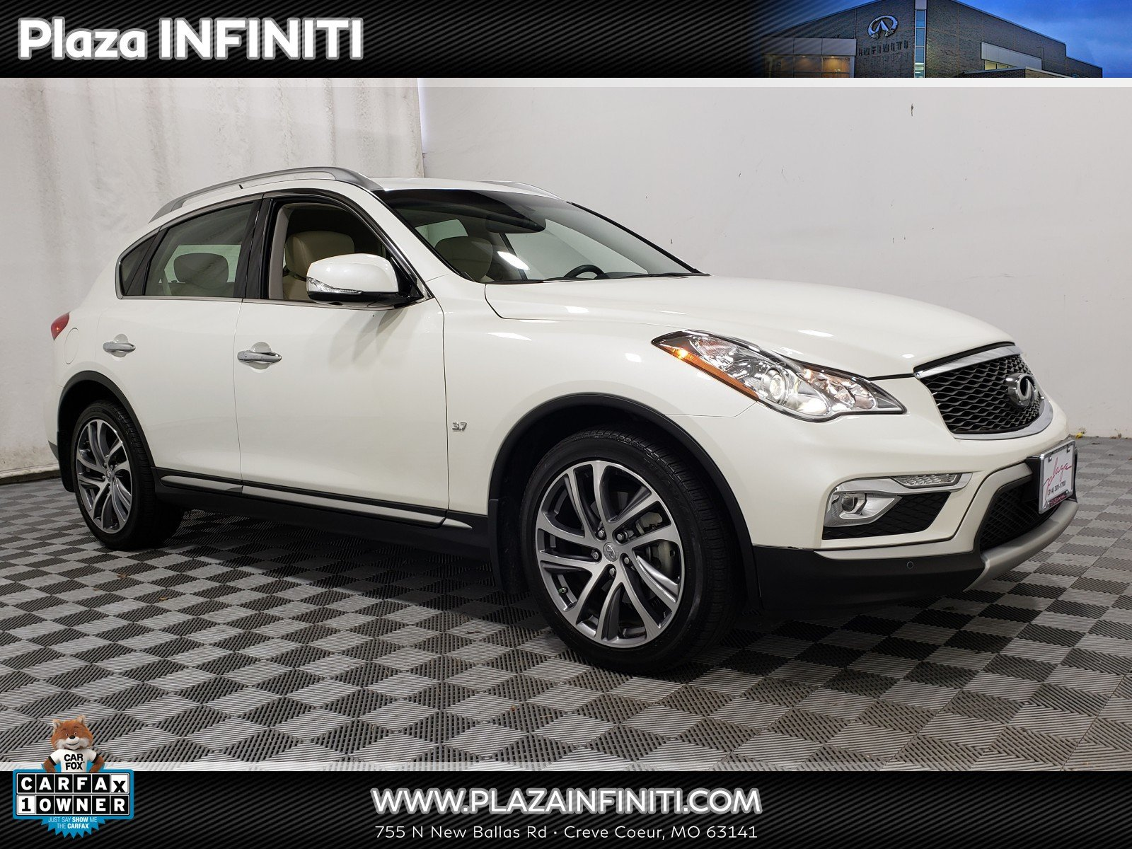 Photo Certified 2016 INFINITI QX50 3.7 with Premium Plus Package SUV in OFallon MO