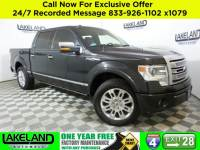 Certified 2014 Ford F-150 Platinum Pickup