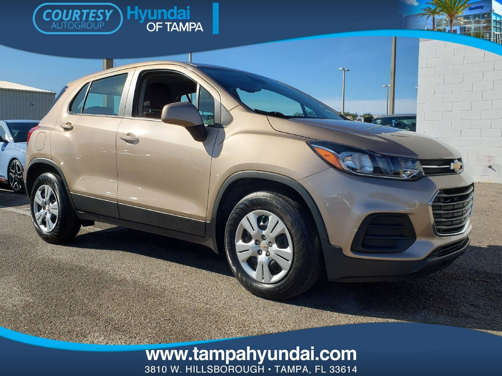 Photo Pre-Owned 2018 Chevrolet Trax LS SUV in Tampa FL