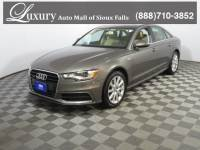Pre-Owned 2015 Audi A6 3.0T Sedan for Sale in Sioux Falls near Brookings