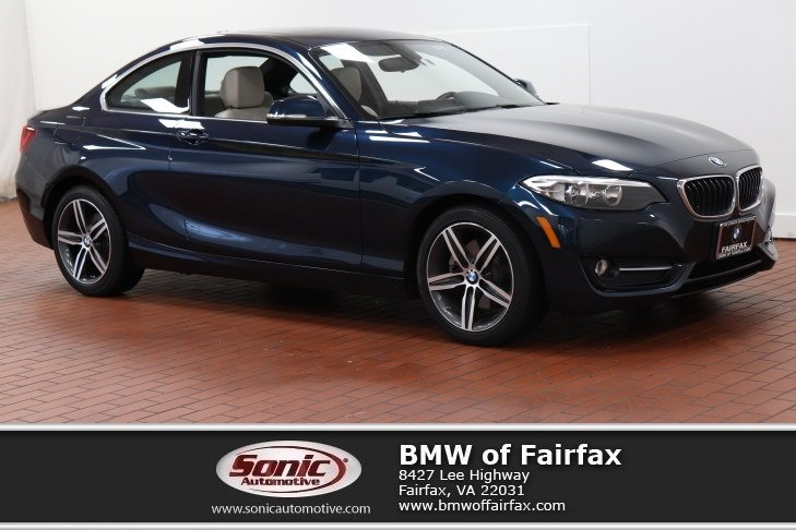 Photo Certified Used 2017 BMW 230i Sport Package Coupe in Fairfax, VA