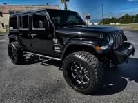 Used 2019 Jeep Wrangler Unlimited BLACKOUT CUSTOM SAHARA HARDTOP LEATHER