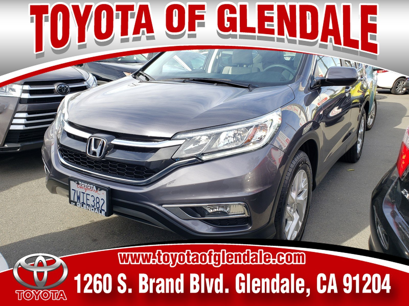 Photo Used 2016 Honda CR-V, Glendale, CA, Toyota of Glendale Serving Los Angeles
