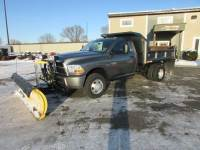 Used 2011 Dodge RAM 3500 4x4 Plow/Dump Truck