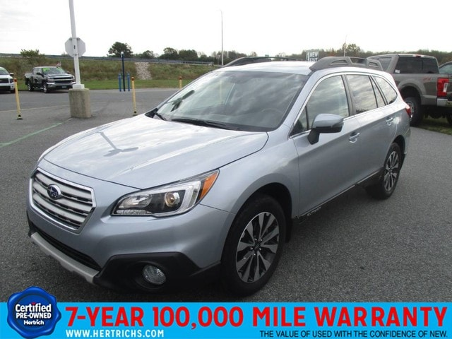 Photo 2015 Subaru Outback 2.5i Limited wMoonroofKeylessAccessNavEyeSight SUV All-wheel Drive