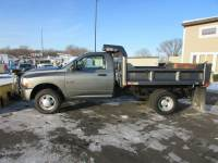 Used 2011 Dodge RAM 3500 4x4 Dump Plow Truck