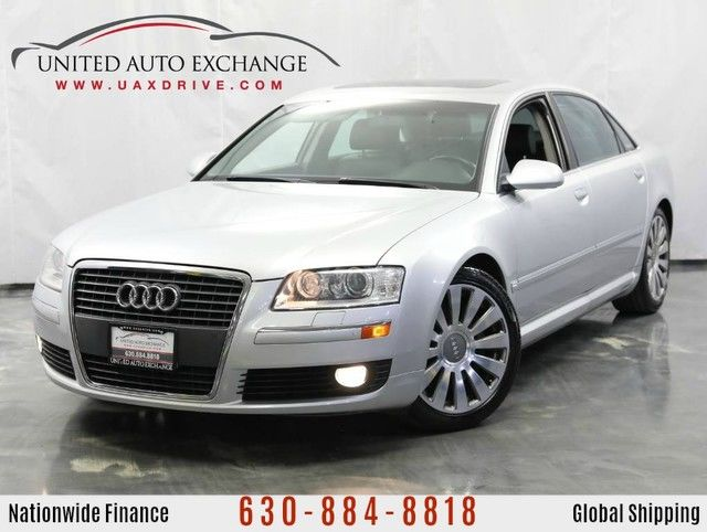 Photo 2006 Audi A8 L 4.2L  AWD Quattro  Sunroof  Navigation  Parking Aid  Heated  Ventilated Front Seats  Bose Premium Sound System