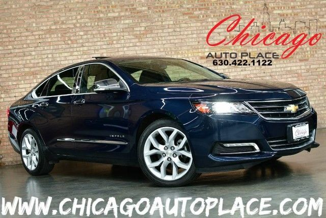 Photo 2017 Chevrolet Impala Premier - 3.6L V6 ENGINE FRONT WHEEL DRIVE NAVIGATION BACKUP CAMERA KEYLESS GO PANO ROOF BLACK LEATHER HEATEDCOOLED SEATS BOSE AUDIO XENONS BLUETOOTH
