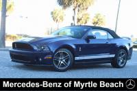 Used 2010 Ford Shelby GT500 Convertible For Sale in Myrtle Beach, South Carolina
