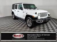 Pre-Owned 2018 Jeep Wrangler Unlimited Sahara 4x4 SUV in Denver