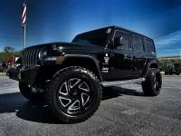 Used 2019 Jeep Wrangler Unlimited BLACKOUT CUSTOM LIFTED SAHARA LEATHER HARDTOP