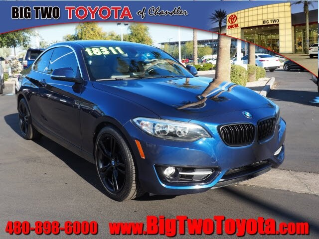 Photo Certified Pre Owned 2016 BMW 2 Series 228i 228i Coupe SULEV for Sale in Chandler and Phoenix Metro Area