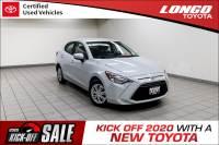 Certified Used 2019 Toyota Yaris Sedan L Manual in El Monte