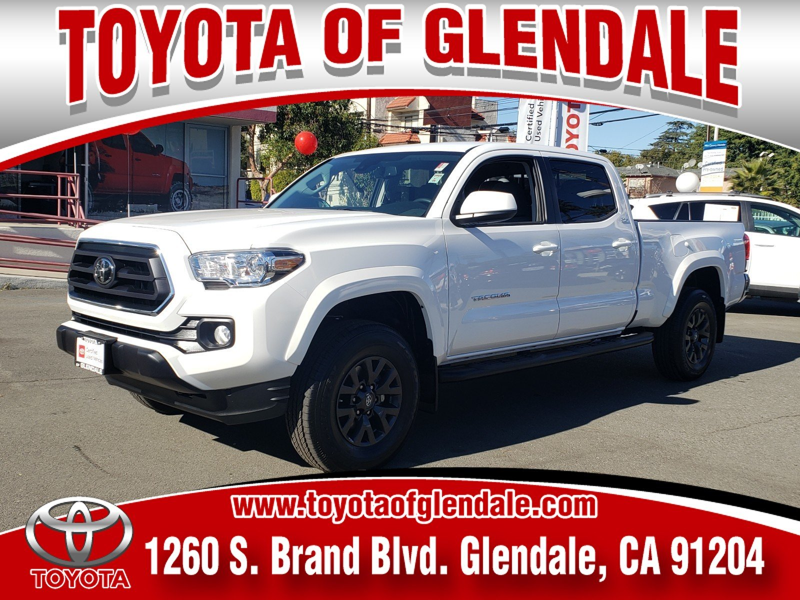 Photo Used 2020 Toyota Tacoma SR5 For Sale  Glendale CA  Serving Los Angeles  3TMBZ5DN1LM024228