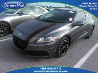 Used 2015 Honda CR-Z Base For Sale in Orlando, FL | Vin: JHMZF1D41FS002179