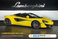 Used 2018 McLaren 570-S Spider For Sale Richardson,TX | Stock# 20L0270A VIN: SBM13FAAXJW004147