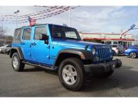 Used 2015 Jeep Wrangler Unlimited Sport 4x4 TOTOWA NJ M7653