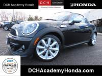 2012 MINI Cooper Coupe S Hatchback