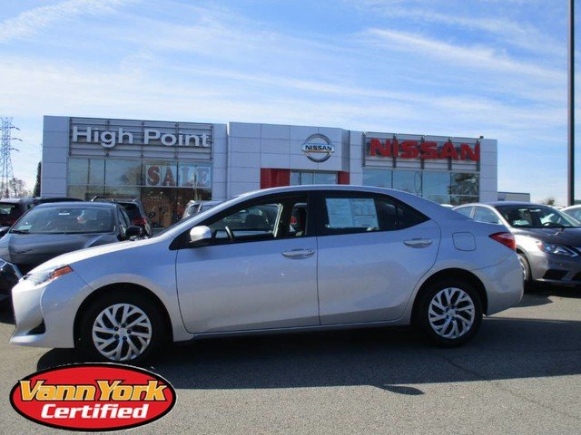 Photo Used 2019 Toyota Corolla LE CVTFor Sale in High-Point, NC near Greensboro and Winston Salem, NC